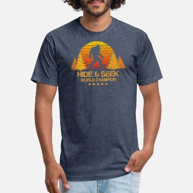 459140488 Hide And Seek Hide and seek world champion shirt bigfoot is real - Unisex  Poly Cotton