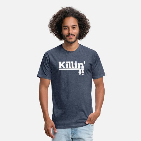 Gift Idea T-Shirts - Hipster Swag Statement Life Gift - Unisex Poly Cotton T-Shirt heather navy