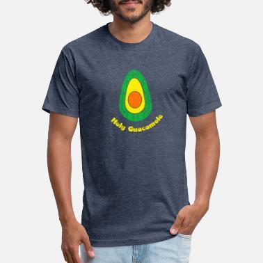 45d4e4017e9d5 Holy Guacamole T-Shirt Avocado Religious Christian - Unisex Poly Cotton  T-Shirt