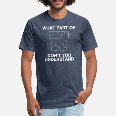 Engineering Electrical Engineer T Shirt Gift Funny Engineering - Unisex Poly Cotton T-Shirt