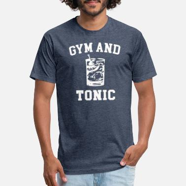 Gym & Tonic Gym and Tonic - Unisex Poly Cotton T-Shirt