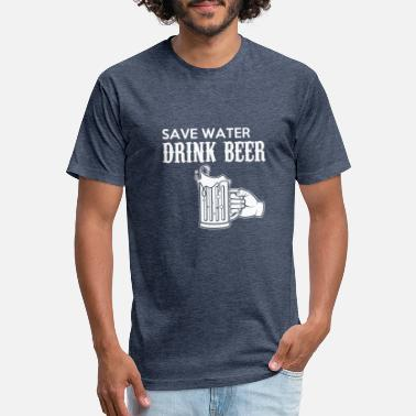 beer - Unisex Poly Cotton T-Shirt