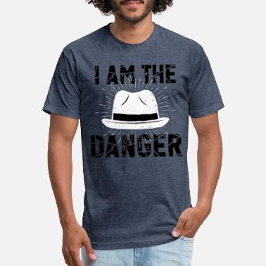 Jessie Pinkman i am the danger bitch - Unisex Poly Cotton T-Shirt