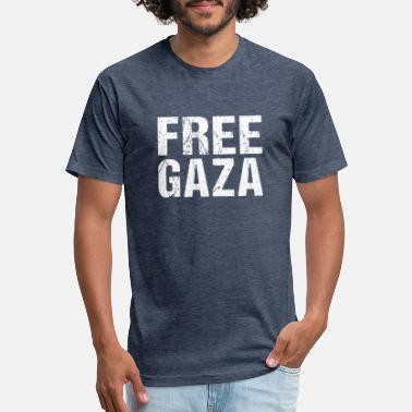 Gaza FREE PALESTINE GAZA PARIS - Unisex Poly Cotton T-Shirt