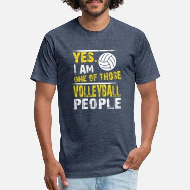 One of those VOLLEYBALL people - Unisex Poly Cotton T-Shirt