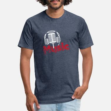 Music - Unisex Poly Cotton T-Shirt
