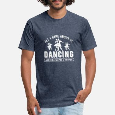 Waltz All I Care about is dancing, funny dancing, dance - Unisex Poly Cotton T-Shirt