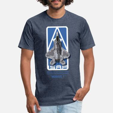 Combat Mobius 1: The Usean Ace - Unisex Poly Cotton T-Shirt