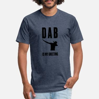 Dab is my greeting - Unisex Poly Cotton T-Shirt