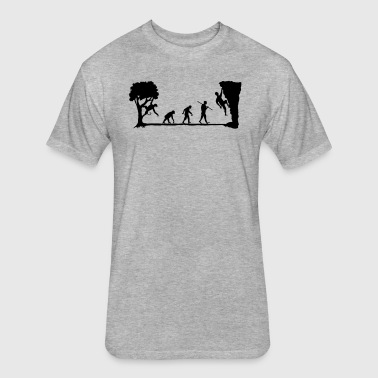 Apes Climb - Fitted Cotton/Poly T-Shirt by Next Level
