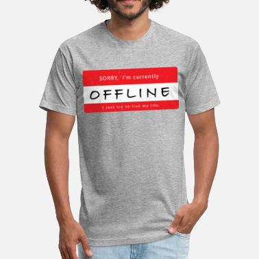 Offline Offline - Fitted Cotton/Poly T-Shirt by Next Level