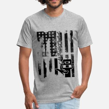 Air Traffic Control Flag Air Traffic Control Flag Shirt - Fitted Cotton/Poly T-Shirt by Next Level