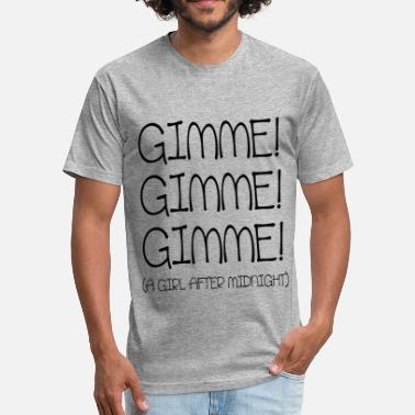 Gimme GIRL AFTER MIDNIGHT - Fitted Cotton/Poly T-Shirt by Next Level