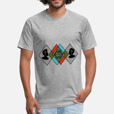 Subliminal Messages Sublimination Logo - Fitted Cotton/Poly T-Shirt by Next Level