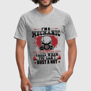 Im A Mechanic Girl Im A Mechanic The Person Your Girl T Shirt - Fitted Cotton/Poly T-Shirt by Next Level