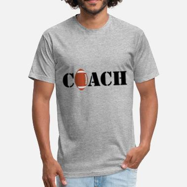 Sunday Night Football Coach Football Superbowl sunday beer - Fitted Cotton/Poly T-Shirt by Next Level