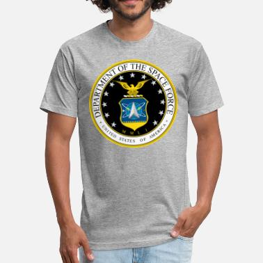 Join Space Force - Fitted Cotton/Poly T-Shirt by Next Level
