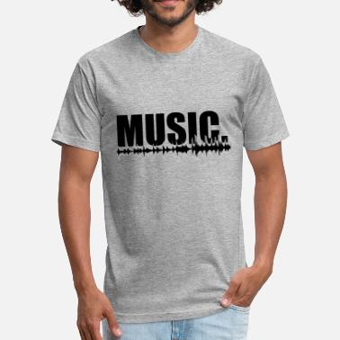 Dj Artist Music Musician Club Artist DJ Gift Idea - Fitted Cotton/Poly T-Shirt by Next Level
