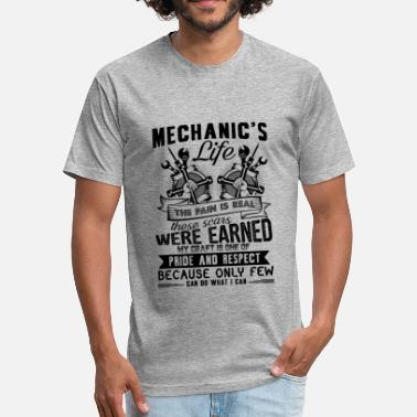 Mechanic Life Mechanic's Life Shirt - Fitted Cotton/Poly T-Shirt by Next Level