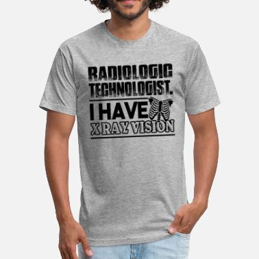 Rad Tech Funny Rad Tech - Fitted Cotton/Poly T-Shirt by Next Level