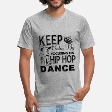 Valentines Day Hip Hop Hip Hop Dance Shirt - Hip Hop Dance T shirt - Fitted Cotton/Poly T-Shirt by Next Level