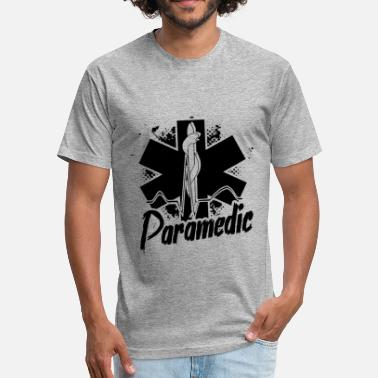 Paramedic Dad Paramedic Shirt - I'm A Paramedic T shirt - Fitted Cotton/Poly T-Shirt by Next Level