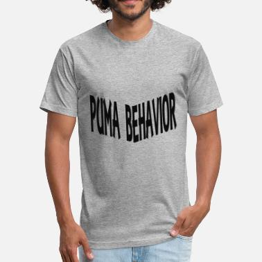 Puma Behavior 2 - Fitted Cotton/Poly T-Shirt by Next Level