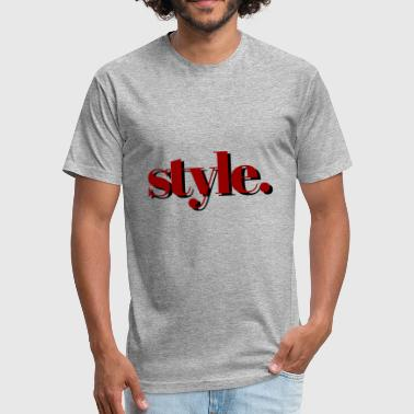 Styling style - Fitted Cotton/Poly T-Shirt by Next Level