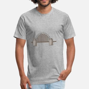 Harbour bridge climb - Fitted Cotton/Poly T-Shirt by Next Level