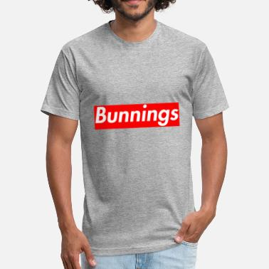 Supreme Meme Bunnings Supreme - Fitted Cotton/Poly T-Shirt by Next Level
