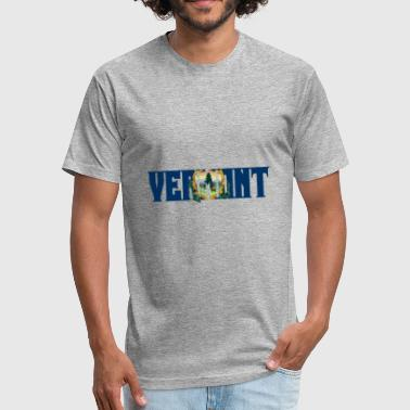 Vermont - Fitted Cotton/Poly T-Shirt by Next Level