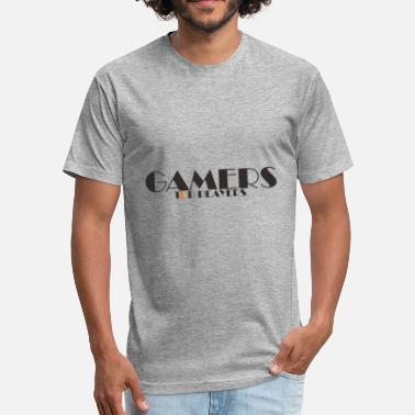Gamers Players GAMERS PLAYERS - Fitted Cotton/Poly T-Shirt by Next Level