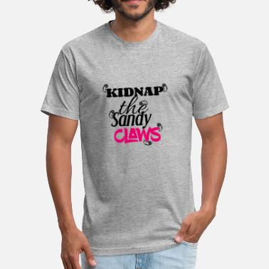 Kidnapped Kidnap - Fitted Cotton/Poly T-Shirt by Next Level