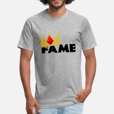 Fame Fame - Fitted Cotton/Poly T-Shirt by Next Level