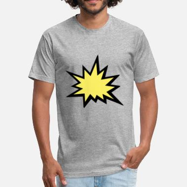 Super Splash Splash - Fitted Cotton/Poly T-Shirt by Next Level