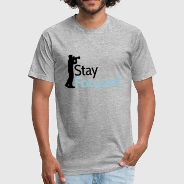 Image Photographer camera photographer photo digital images make eyes - Fitted Cotton/Poly T-Shirt by Next Level
