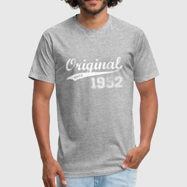 Born In 1952 1952 - Fitted Cotton/Poly T-Shirt by Next Level