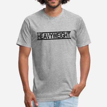 Heavyweight HEAVYWEIGHT - Fitted Cotton/Poly T-Shirt by Next Level