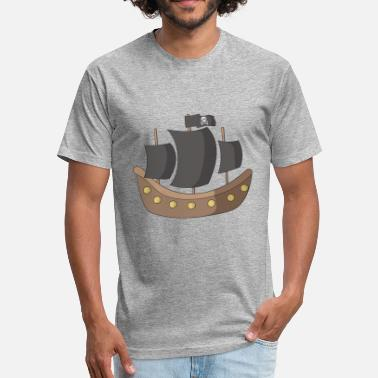 Pirate Ship pirate ship - Unisex Poly Cotton T-Shirt
