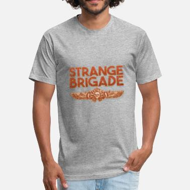 Strange Gaming Strange Brigade 2018 Game - Fitted Cotton/Poly T-Shirt by Next Level