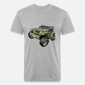 Military Jeep Suv Monster Truck Voiture Dessin Animé De Vecteur T