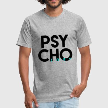 Psychology - Fitted Cotton/Poly T-Shirt by Next Level