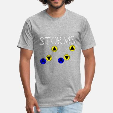 Song Of Storm Song of Storms - Fitted Cotton/Poly T-Shirt by Next Level