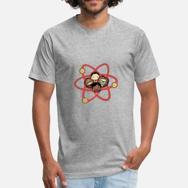 Atomic Model The Alternative Atomic Model - Fitted Cotton/Poly T-Shirt by Next Level