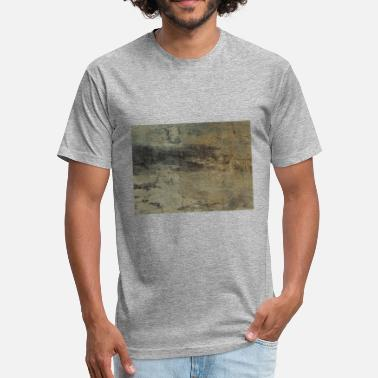 Texture Wood texture - Fitted Cotton/Poly T-Shirt by Next Level