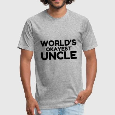 Uncle Ben OKAYEST UNCLE - Fitted Cotton/Poly T-Shirt by Next Level