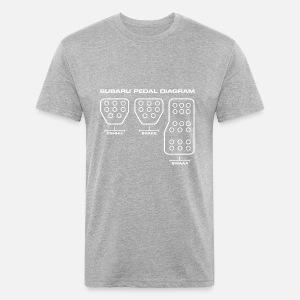 Subaru Pedal Diagram Unisex Baseball T Shirt Spreadshirt