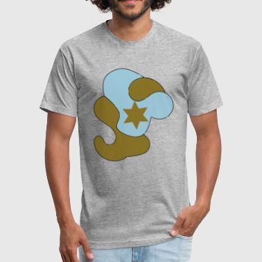 Star Sky The star in the sky - Fitted Cotton/Poly T-Shirt by Next Level