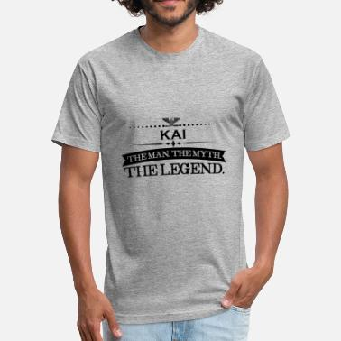 Kaiserslautern Mann mythos legende geschenk Kai - Fitted Cotton/Poly T-Shirt by Next Level