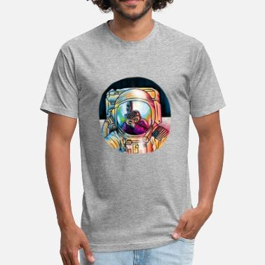 Kubrick THE MOONING - Fitted Cotton/Poly T-Shirt by Next Level
